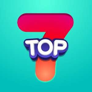 solution Top 7 Niveau 474 Thème de soirée