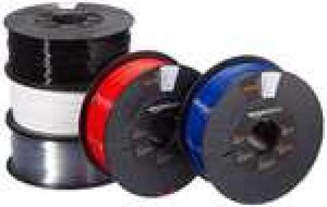 5 bobines Filament PETG Amazon Basics pour imprimante 3D - 1,75 mm, 5 couleurs assorties, 5x 1Kg