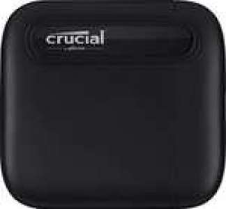 Disque SSD Externe USB-C 3.1 Gen 2 Crucial X6 (CT500X6SSD9) - 500 Go