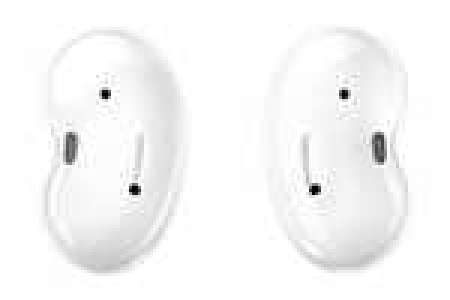 Écouteurs intra-auriculaires sans-fil Samsung Galaxy Buds Live - blanc