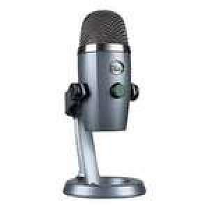 Microphones USB à condensateur Blue Yeti Nano - Gris