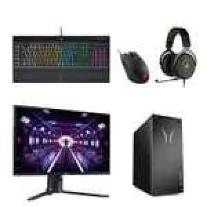 PC Medion S76 (i5-10400F, GTX 1660S, 8 Go RAM, SSD 512 Go) + Écran 24
