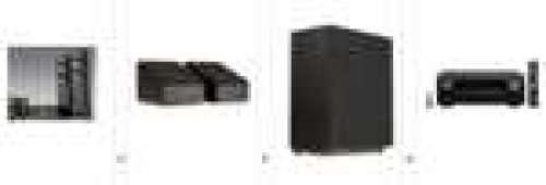 Ampli Denon AVR-X2700H DAB + Enceintes surround Jamo S8 ATM + Pack enceintes Home Cinéma Jamo S807 HCS + Caisson Jamo S810 SUB (Noir)