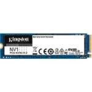 SSD M.2 Kingston NV1 NVMe PCIe 3.0 4x - 500 Go (jusqu'à 2100 Mo/s - 1700 Mo/s en lecture et écriture)