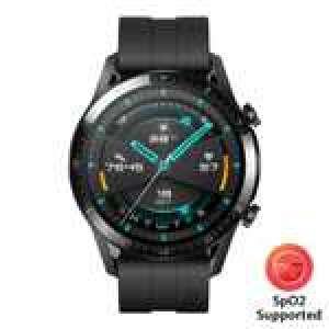 Montre connectée Huawei Watch GT2 (Noir, 46mm) + Huawei Band 4