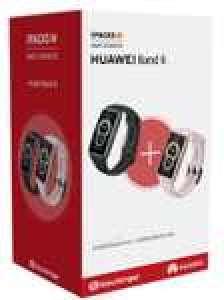 Lot de 2 montres connectées Huawei Band 6 - Rose et noir