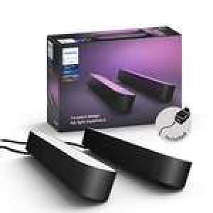 Pack de 2 lampes Philips Hue White and Color Ambiance Play - noir (Reconditionné - Comme Neuf)