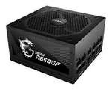 Sélection d'alimentations PC modulaire MSI MPG A-GF en promotion - Ex : A650GF - 650 W, 80+ Gold, ATX (via ODR de 20€)