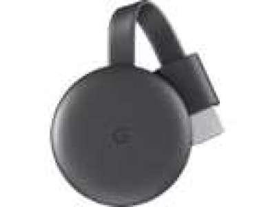 Passerelle multimédia Google Chromecast 3 - Coloris charbon (Frontaliers Allemagne)