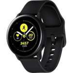 Montre connectée Samsung Galaxy Watch Active - Noir (Via retrait dans une sélection de magasins)