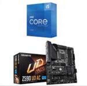 Kit d'évo PC - processeur i5-11600K (3.9 GHz, Mode Turbo à 4.9 GHz) + carte mère Gigabyte Z590 UD AC