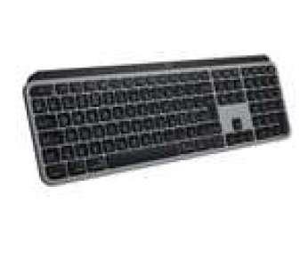 Clavier sans fil Bluetooth Logitech MX Keys pour Mac - Noir graphite, Azerty