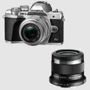 Appareil photo Olympus E-M10 Mark III S + Objectifs M.Zuiko Digital 14-42mm F3.5-5.6 II R & 45mm F1.8 offert (Via formulaire)