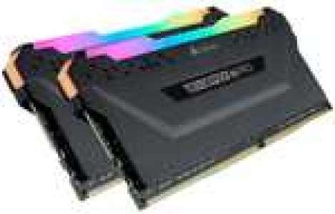 Kit de mémoire RAM DDR4 Corsair Vengeance RGB Pro (CMW32GX4M2D3600C18) - 32 Go (2 x 16 Go), 3600 MHz, CL18