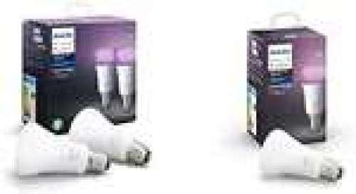 Lot de 3 ampoules Philips Hue White & Color Ambiance (E27)
