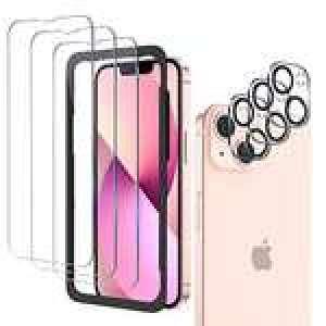 Sélection de protections - Ex: Lot de 3 protections écran en Verre Trempé + 3 protections Caméra pour iPhone 13 (Via coupon - Vendeur tiers)