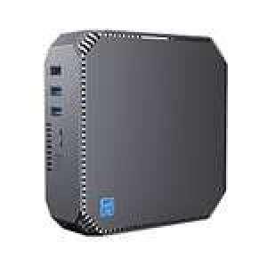 Mini PC Bureautique - Intel Celeron J3455, 6 Go de RAM, 128 Go de DD, Win.10 (Vendeur Tiers)
