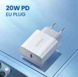 Sélection d'articles Ugreen en promotion - Ex : Chargeur rapide QC 3.0 - 20W, USB-C (1.99€ pour Nouveaux Clients)