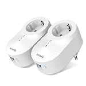 Plug CPL Tenda PH6 Kit CPL AV 1000Mbps