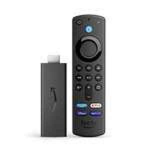 Passerelle multimédia Amazon Fire TV Stick (2021) - avec télécommande vocale Alexa et boutons de contrôle de la TV - Modèle 2021