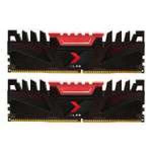 Kit mémoire Ram DDR4 PNY XLR8 16 Go (2x8Go) - 3200 MHz