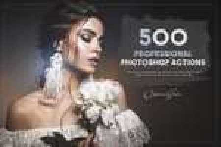 500 Professional Photoshop Actions Bundle gratuit sur PC & Mac (Dématérialisé)