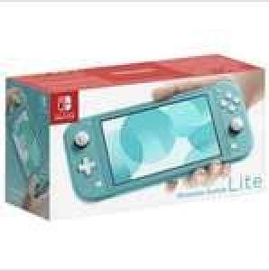 Console portable Nintendo Switch Lite - Turquoise (Via 30€ sur Carte Fidélité)