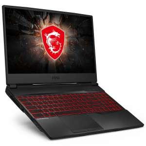 """PC portable 15.6"""" MSI GL65 Leopard 10SFR-483XES - Full HD 144Hz, i7 10750H, RTX 2070, 16Go RAM, 512Go SSD NVMe (QWERTY Espagnol)"""