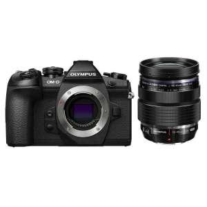 Appareil Photo Hybride Olympus OM-D E-M1 Mark II + Objectif M.Zuiko Digital ED 12-40mm f/2.8 Pro + Flash FL-LM3 & Accessoires