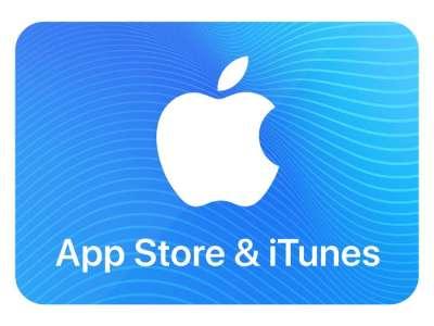 15% de crédits ajoutés pour l'achat de cartes App Store & iTunes de 25, 50 ou 100€ (Dématérialisé - startselect.com)