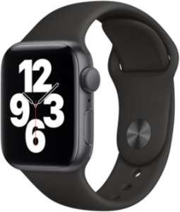 Montre connectée Apple Watch SE GPS - 40 mm, bracelet sport, gris/noir