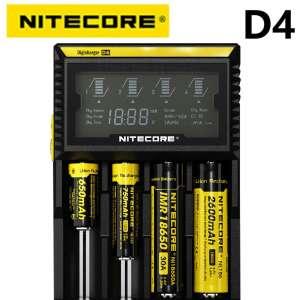 Chargeur de piles AA / AAA Nitecore DigiCharger D4