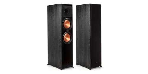 Enceinte colonne Klipsch RP-8000F - coloris ebony vinyl