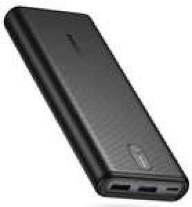 Batterie Externe Poweradd - 20000mAh, USB C Power Delivery 18W, trois sorties: 5V/3A, 9V/2A, 12V/1.5A (vendeur tiers)