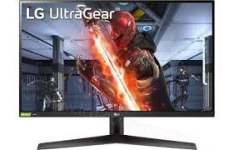 Ecran PC 27'' LG 27GN800-B - QHD (2560 x 1440), 144Hz, 1ms, Freesync, G-Sync, IPS