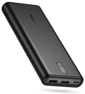 Batterie Externe Poweradd - 20000mAh, USB C, Power Delivery 18W, 3 Ports (vendeur tiers)