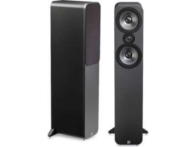 Paire d'enceintes Q Acoustic 3050 couleur gris foncé