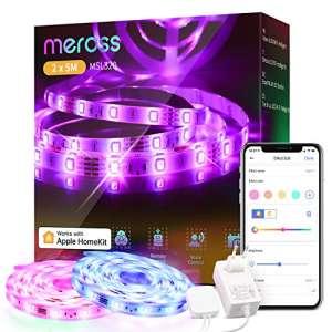 30% de réduction sur une sélection d'éclairages connectés Meross - Compatibles HomeKit, Alexa, Google Home (Vendeur tiers)