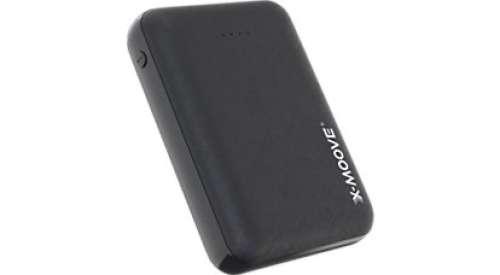 Batterie externe Xmoove - 10000mAh, 2 ports USB + Cable USB-C