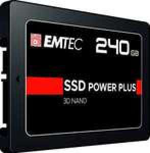 SSD interne 2.5'' Emtec X150 Power Plus (3D NAND) - 240 Go, SATA