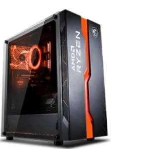 Ordinateur Agando Agua 5838RX Dragon - Ryzen 7 5800X (3.8/4.7 GHz), RTX-3080 Ti (12 Go), 16 Go de RAM, 1 To en SSD, Windows 10 Pro