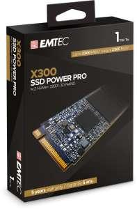 SSD interne M.2 Emtec X300 Power Pro - 1 To