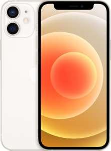 Apple iPhone 12 mini 128 Go - full HD+ Retina, A14, 4 Go de RAM, 128 Go, blanc ou autres couleurs dispo (frontaliers Suisse)