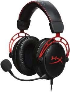 Casque Gaming filaire HyperX Cloud Alpha - contrôle audio intégré
