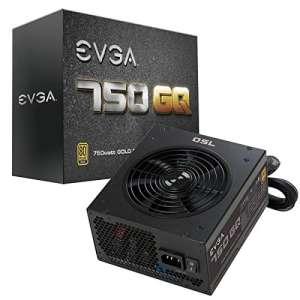 Alimentation PC semi modulaire EVGA 750 GQ - 750 W, 80+ Gold