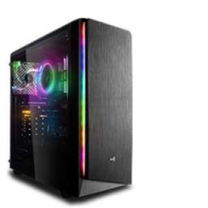 PC fixe Gaming - Ryzen 5 5600X, RTX 3060 Ti, 16 Go RAM (3200 MHz), 1 To SSD, Alim. BeQuiet! 600W, MSI B550M WiFi,Windows10 (1429€ avec 3070)