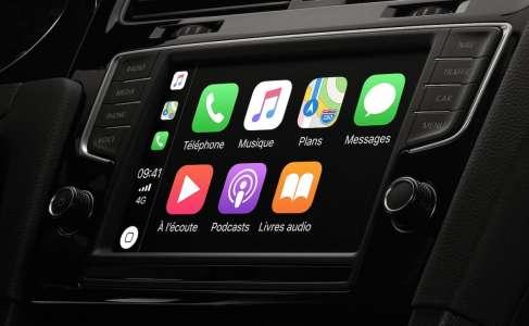 Apple veut que CarPlay contrôle la vitesse et la clim de votre voiture