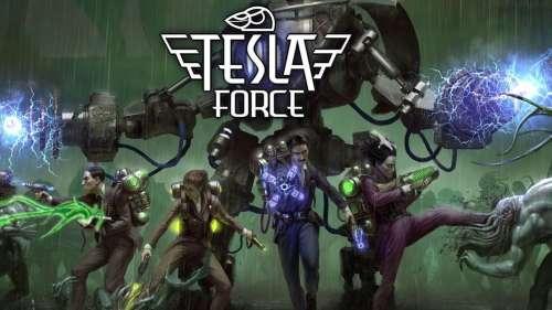 Tesla Force : un superbe top down shooter dans l'univers de Lovecraft (sortie App Store)