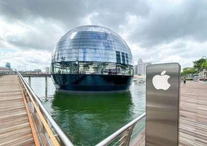 Apple célèbre ses 40 ans de présence à Singapour