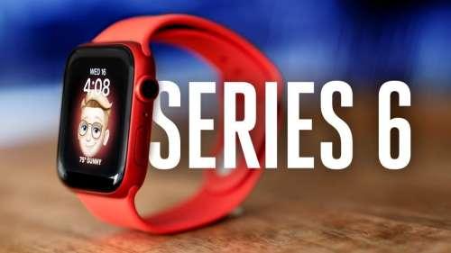 L'Apple Watch Series 6 aide Apple à rester le premier vendeur de montres connectées